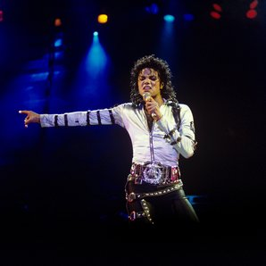 Michael Jackson at Wembley Stadium