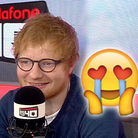 Ed Sheeran Baby Talk On Vodafone Big Top 40