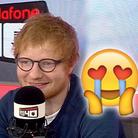 Ed Sheeran Baby Talk On Vodafone Big Top 40